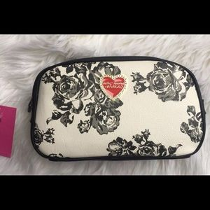 Betsey Johnson Cosmetic/Travel Bag
